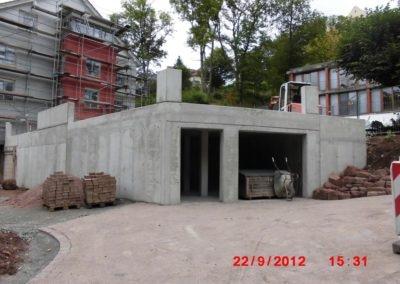 Garage & Stützwand Eisenach